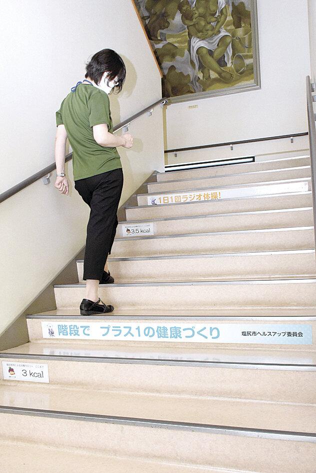 下り カロリー 上り 階段